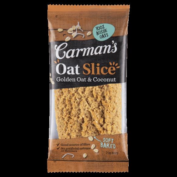 Golden Oat & Coconut Oat Slice 70g
