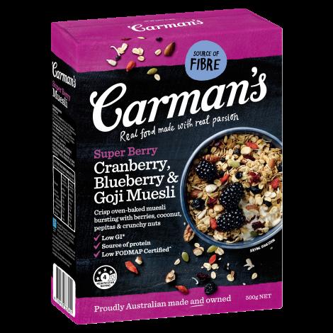 Super Berry Cranberry, Blueberry & Goji Muesli