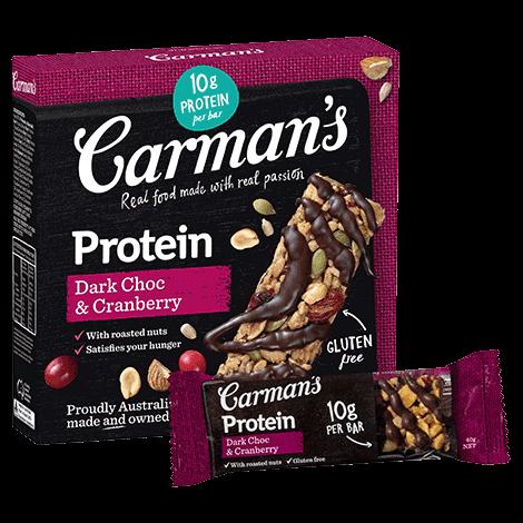 Dark Choc & Cranberry Protein Bars