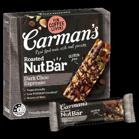 Dark Choc Espresso Nut Bars