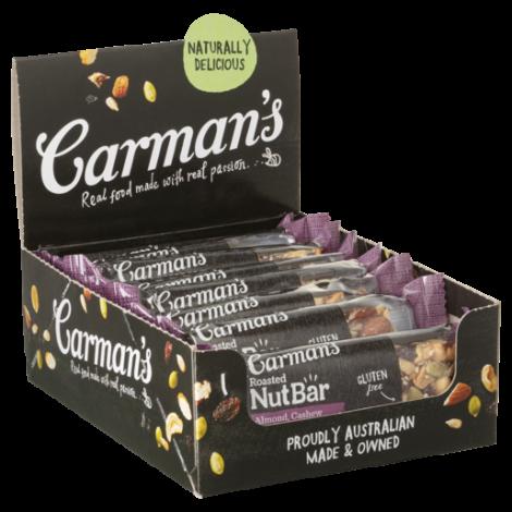 Almond, Cashew & Cranberry Nut Bars 12 x 45g
