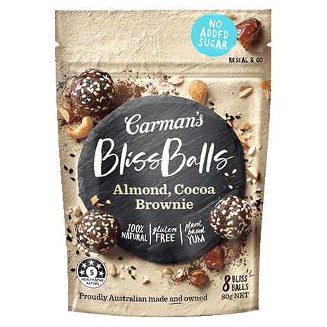 Almond, Cocoa Brownie Bliss Balls