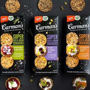Carman's Kitchen Super Seed and Grain Crackers