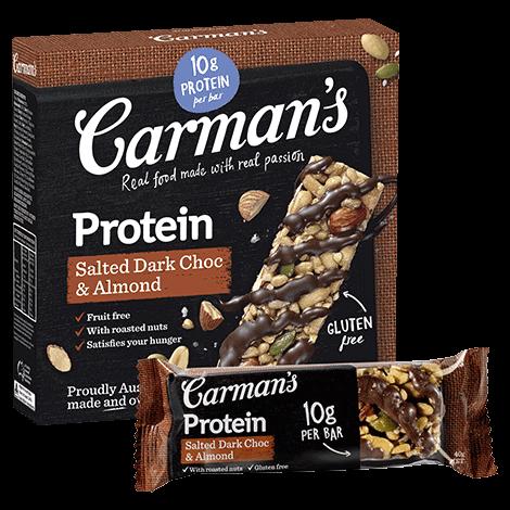 Salted Dark Choc & Almond Protein Bars