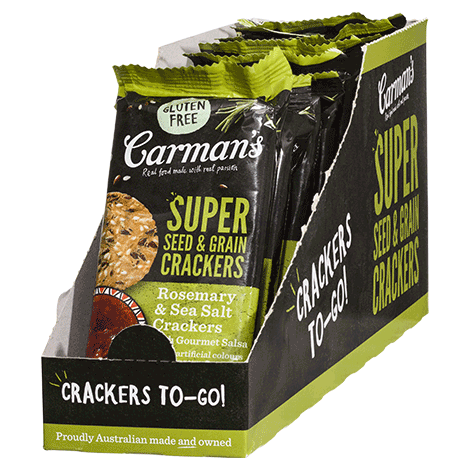 Super Seed & Grain Crackers with Gourmet Salsa