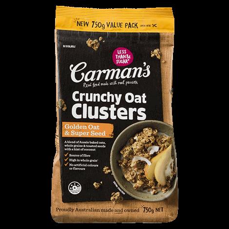 Golden Oat & Super Seed Crunchy Oat Clusters Value Pack