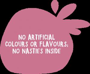 no artificial colours or flavours