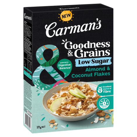 Almond & Coconut Goodness & Grains Flakes