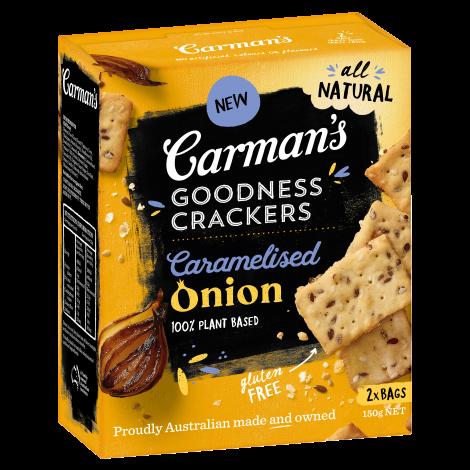 Caramelised Onion Goodness Crackers