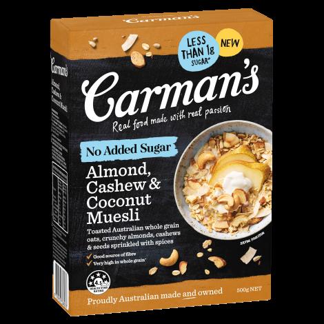 No Added Sugar Almond Cashew and Coconut Muesli