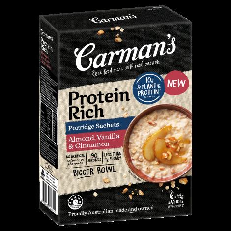Protein Rich Almond, Vanilla & Cinnamon Porridge