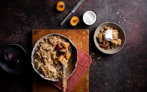 Apple & Pear Crumble recipe