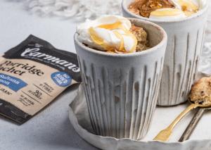 Apple, Sultana & Cinnamon Oat Mug Muffins