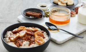 Chai infused bircher muesli recipe