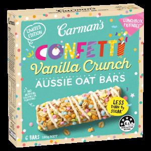 Carman's Confetti Crunch Aussie Oats Bars