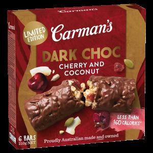 Carman's-Dark-Choc-Cherry-Coconut-Bars-Limited-Edition