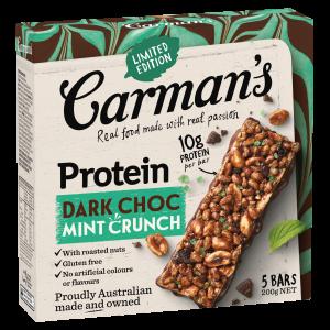 Carman's Dark Choc Mint Crunch Protein Bar
