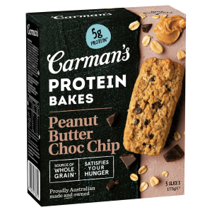 Carman's Protein Bakes Peanut Butter Choc Chip