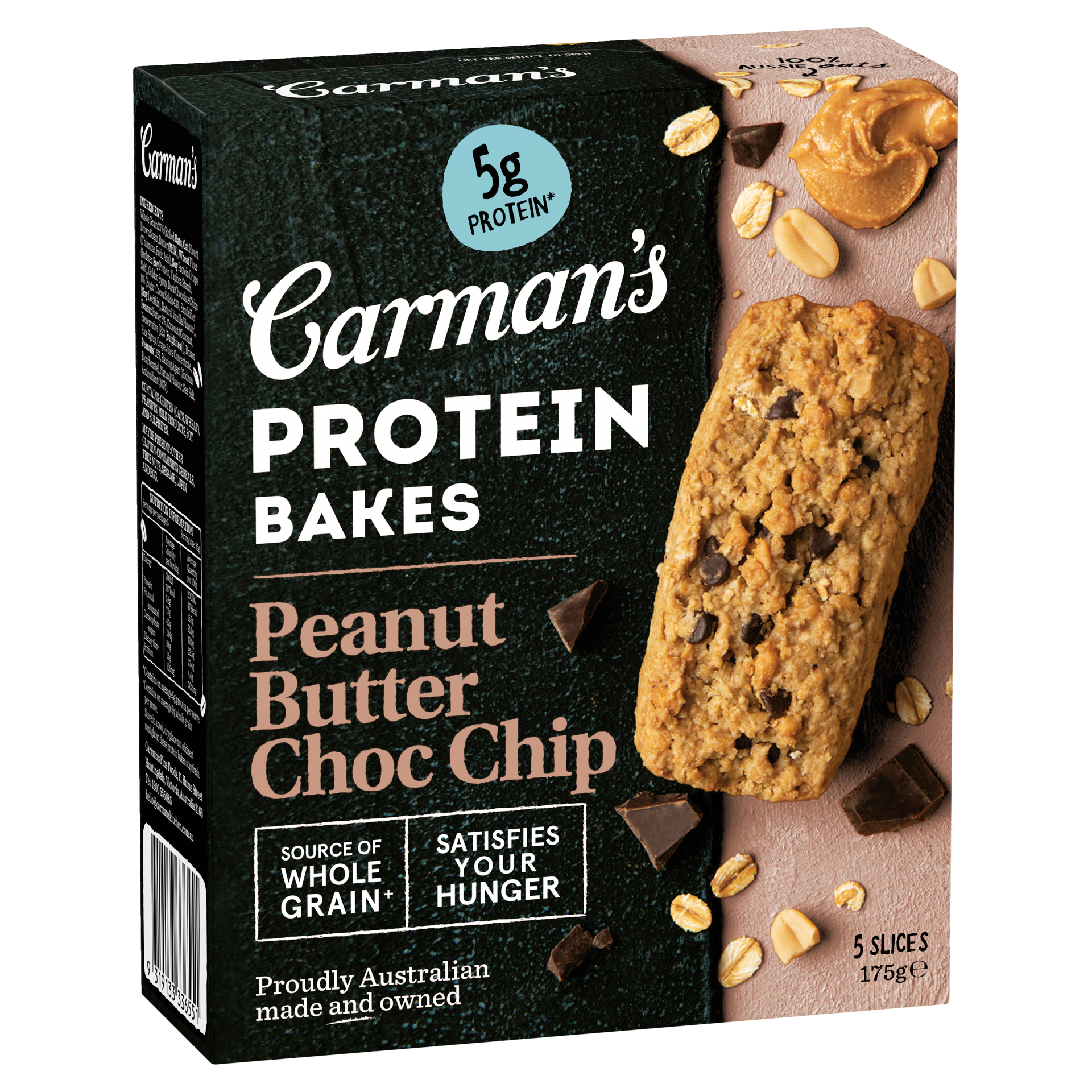 Peanut Butter Choc Chip Protein Bakes