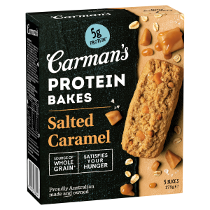Salted Caramel Protein Bakes