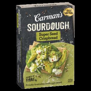 Carman's Sourdough Super Seed Crispbread