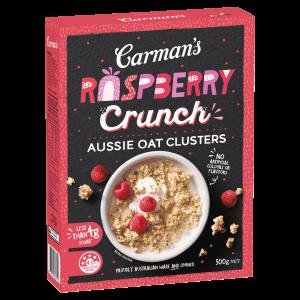 RASPBERRY Crunch Aussie Oat Clusters