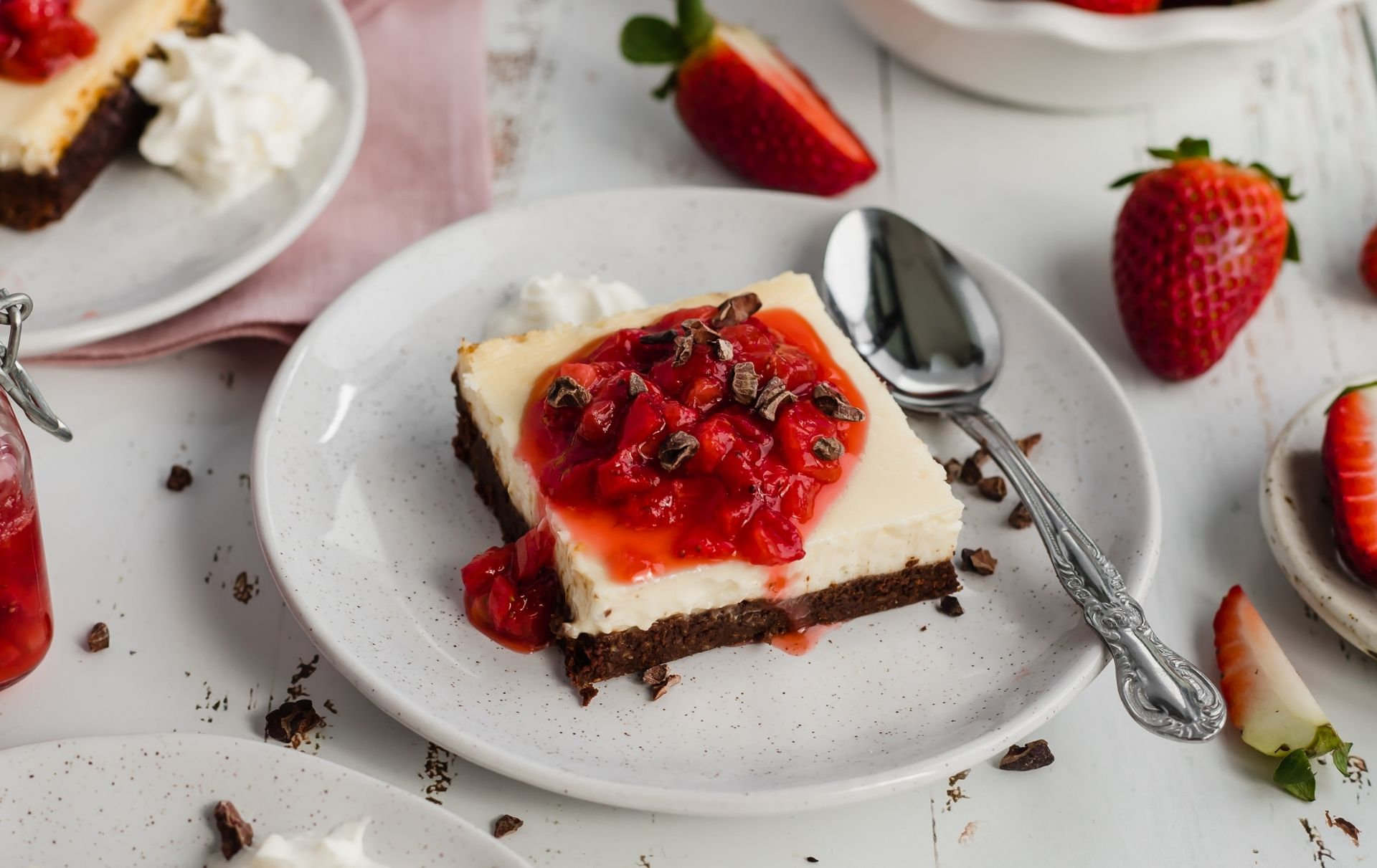healthy cheesecake brownie recipe